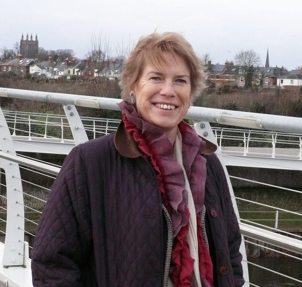 Diana on sustrans bridge
